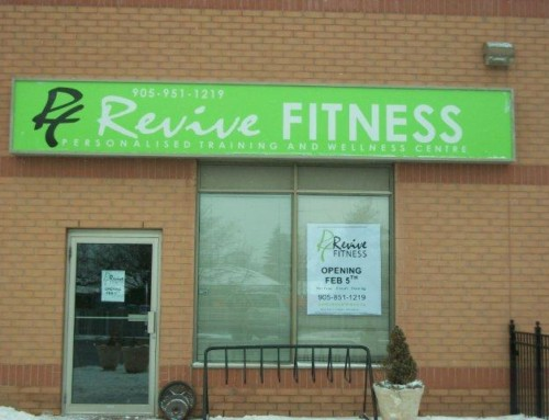 Revive Fitness signage