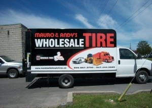 Wholesale Tire Truck