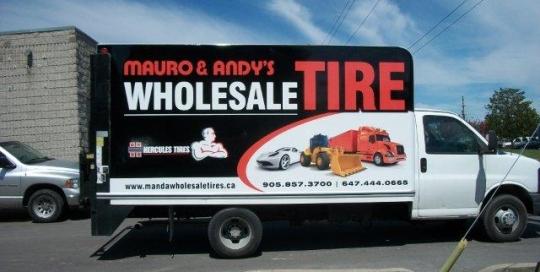 Wholesale Tire Truck