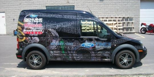 Ford van decal