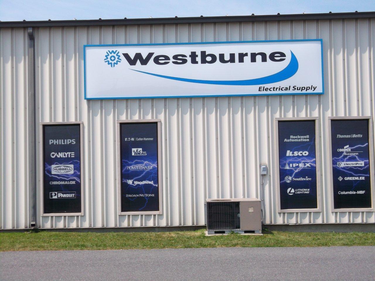 Westburne exterior sign