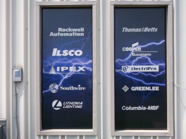 Ilsco window signage exterior