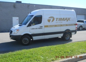 Timax van decal