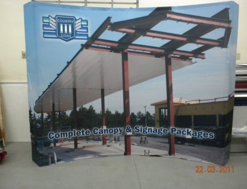 Large Canopy Banner