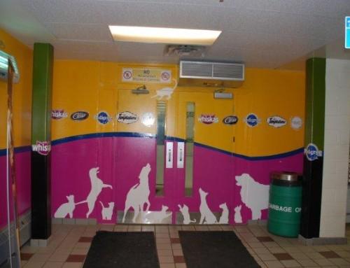 Whiskas Pedigree Interior Wall Signage