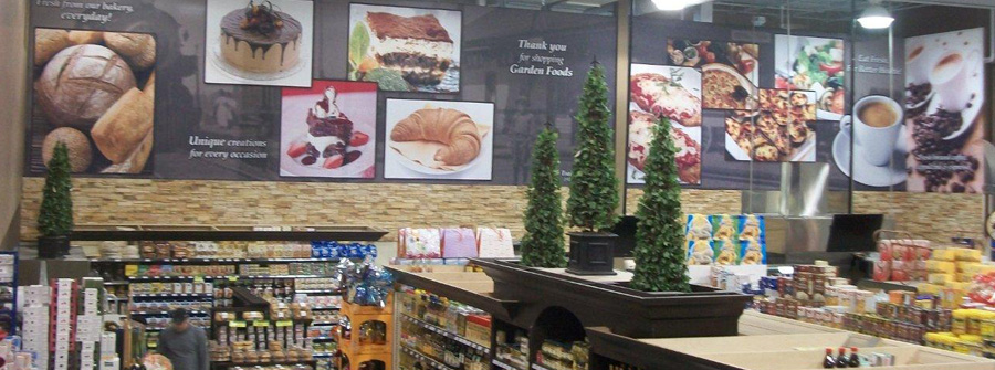 Interior grocery